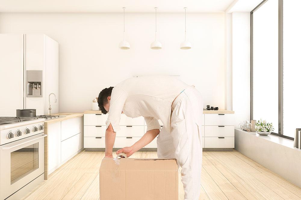 台北搬家 的事前準備,要細心測量家具並包裹好。